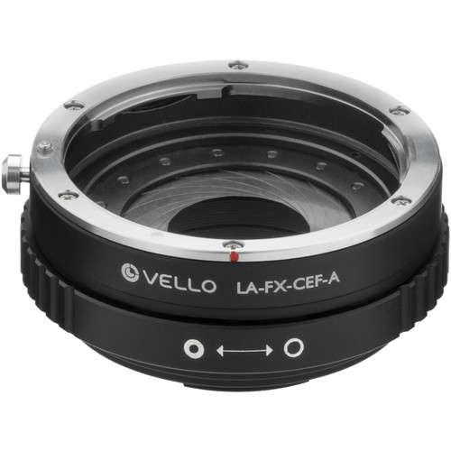 Vello Canon EF/EF-S Lens to Fujifilm X-Mount Camera Lens Adapter with Aperture Control