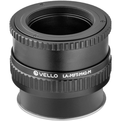 Vello M42 Lens to Micro Four Thirds-Mount Camera Lens Adapter with Macro