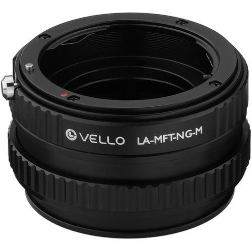 Vello Nikon F-Mount G Lens to Micro Four Thirds-Mount Camera Lens Adapter with Macro