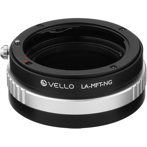 Vello Nikon F-Mount G Lens to Micro Four Thirds Camera Lens Adapter with Aperture Control