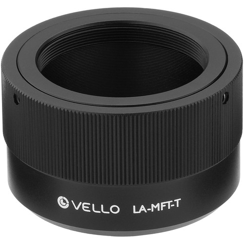 Vello T-Mount Lens to Micro Four Thirds Camera Lens Adapter