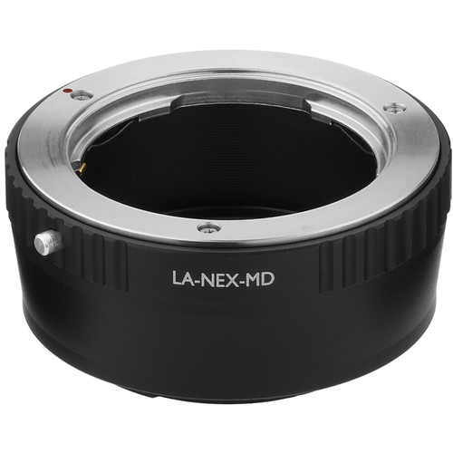 Vello Minolta MD Lens to Sony E-Mount Camera Lens Adapter