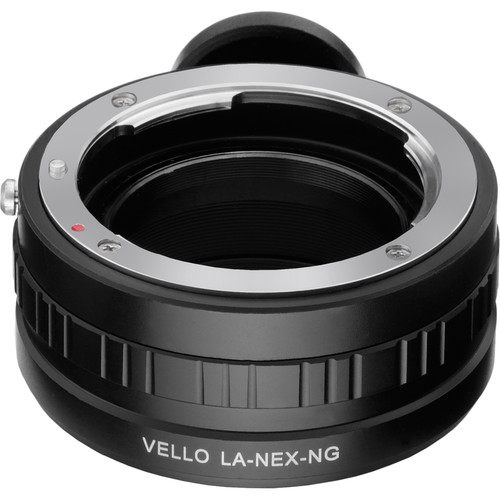 Vello Nikon F-Mount G Lens to Sony E-Mount Camera Lens Adapter with Aperture Control