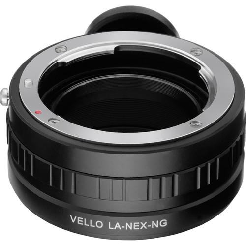 Vello Nikon G Lens to Sony E-Mount Camera Adapter