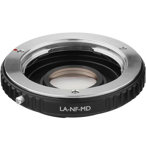 Vello Minolta MD Lens to Nikon F-Mount Camera Lens Adapter