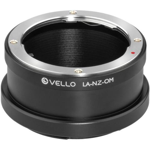 Vello Lens Mount Adapter for Olympus OM-Mount Lens to Nikon Z-Mount Camera