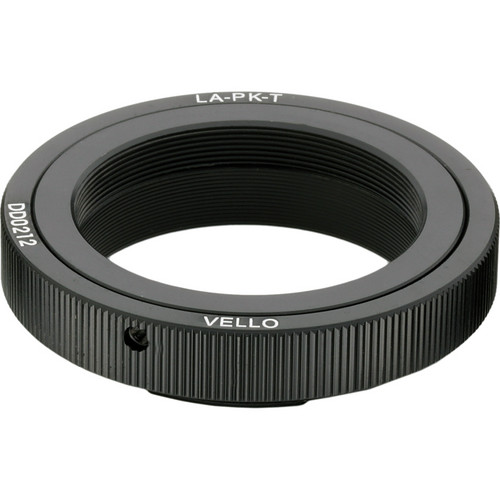 Vello T Mount Lens to Pentax K Camera Adapter