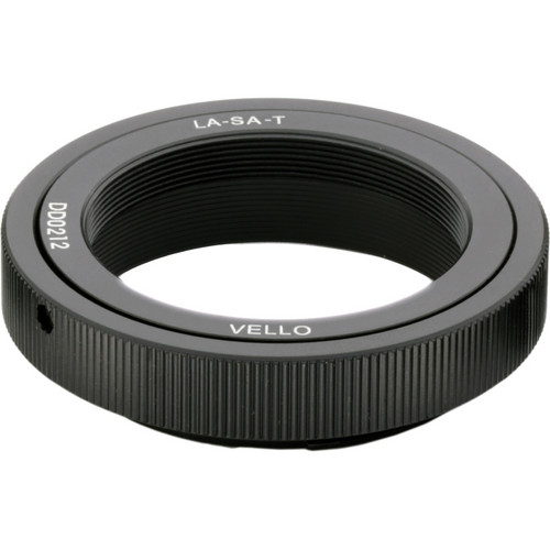 Vello T Mount Lens to Sony A-Mount Camera Adapter