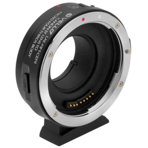 Vello Lens Adapter for Canon EF/EF-S Lenses to Micro Four Thirds Mount Cameras (Version II)