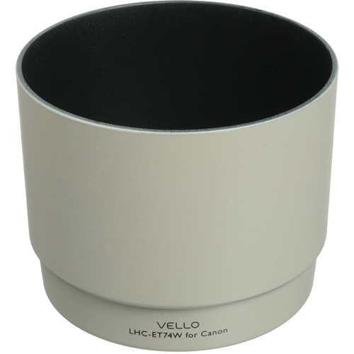 Vello ET-74W Dedicated Lens Hood (White)