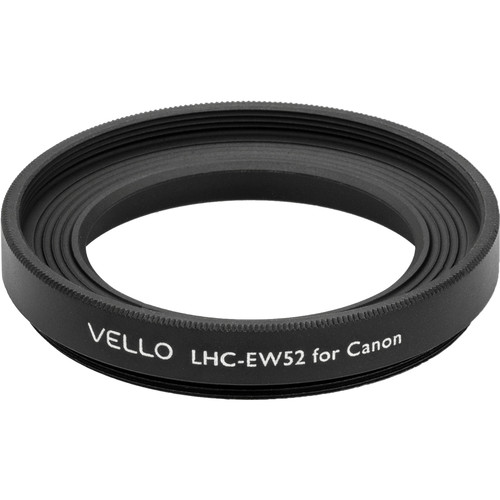 Vello EW-52 Dedicated Lens Hood (Black)