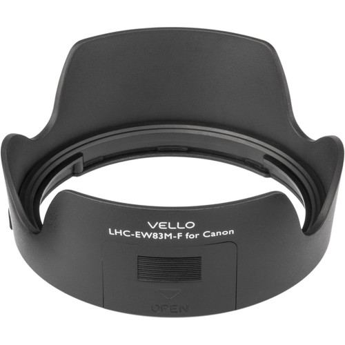 Vello EW-83M-F Dedicated Lens Hood with Filter Access Panel