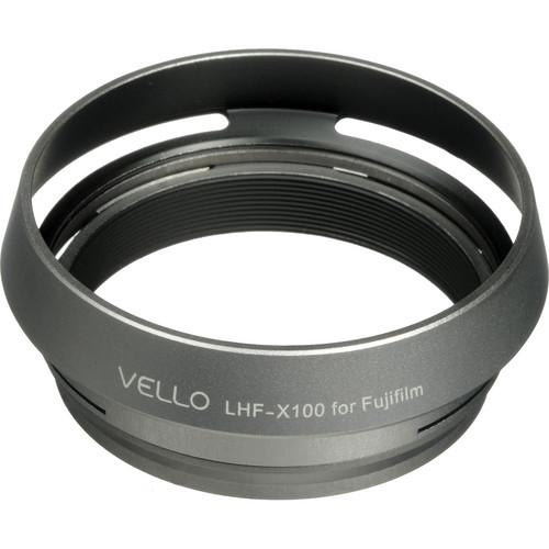 Vello LH-X100 Dedicated Lens Hood (Silver)