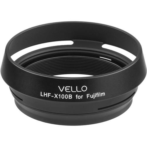Vello LH-X100B Dedicated Lens Hood (Black)