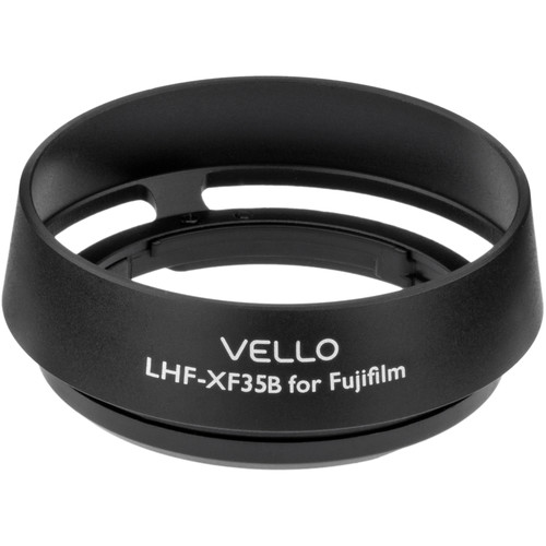 Vello LHF-XF35B Dedicated Lens Hood (Black)