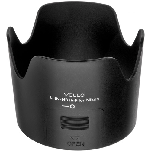 Vello HB-36F Dedicated Lens Hood with Filter Access Panel