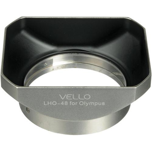 Vello LH-48 Dedicated Lens Hood (Silver)