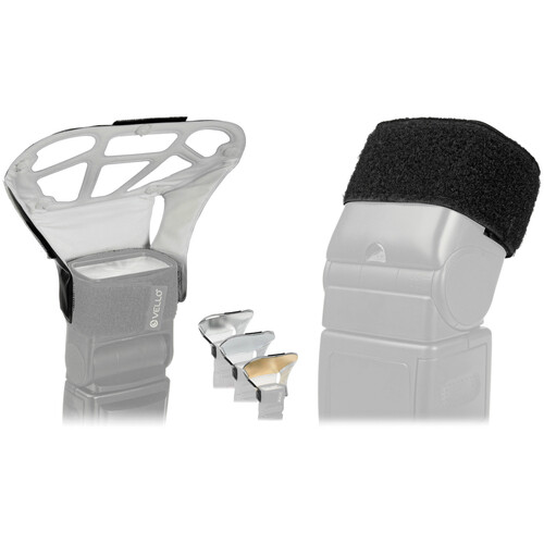 Vello Light Bouncer Plus with Cinch Strap Kit