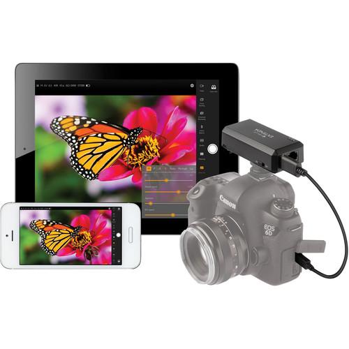 Vello LW-100 Extendá Wi-Fi Camera Remote Control for Select Canon, Nikon & Sony