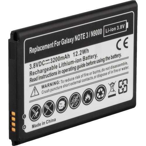 Vello LW-500BT Rechargeable Li-Ion Battery for Extendá Plus (3.8V, 3200mAh, 12.2Wh)