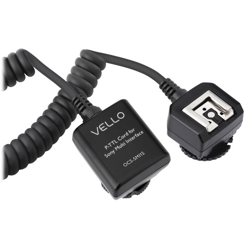Vello Off-Camera TTL Flash Cord for Sony Cameras with Multi Interface Shoe (1.5')