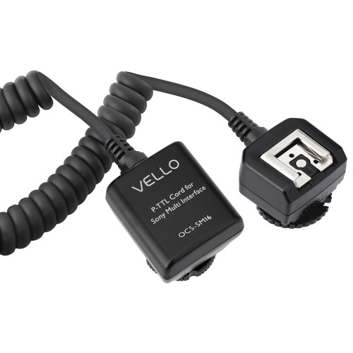 Vello Off-Camera TTL Flash Cord for Sony Cameras with Multi Interface Shoe (6.5')