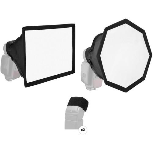 Vello OctaSoft Kit for Portable Flash (Medium)