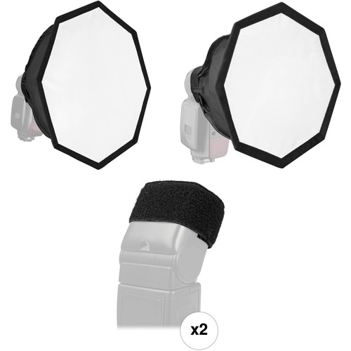 Vello Octa Softbox Kit for Portable Flash