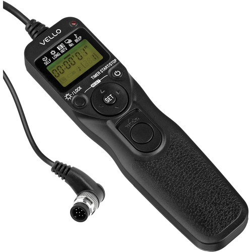 Vello ShutterBoss II Timer Remote Switch for Nikon with 10-Pin Connection