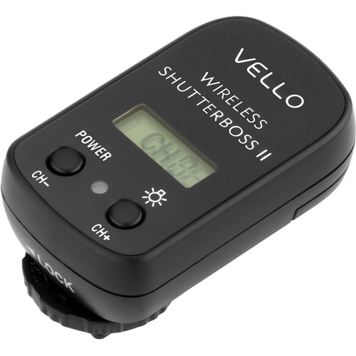 Vello Wireless ShutterBoss II Receiver
