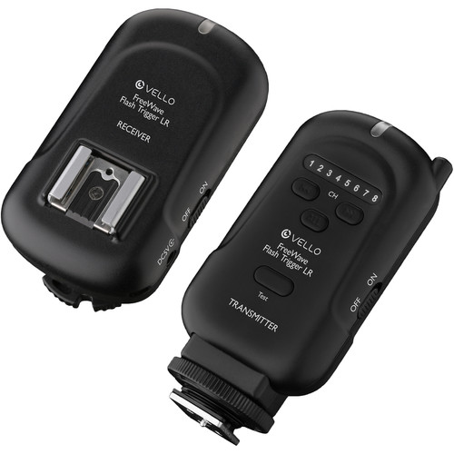Vello FreeWave LR Wireless Flash Trigger and Receiver Kit