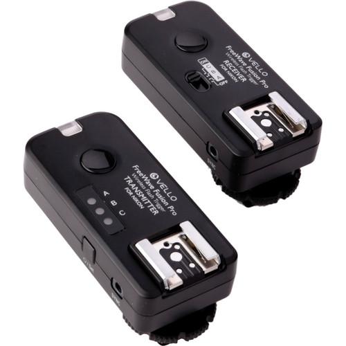 Vello FreeWave Fusion Pro Wireless Flash Trigger and Remote Control for Nikon DSLRs