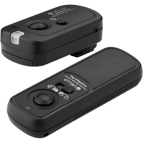 Vello FreeWave Plus Wireless Remote Shutter Release for Sony Multi Terminal