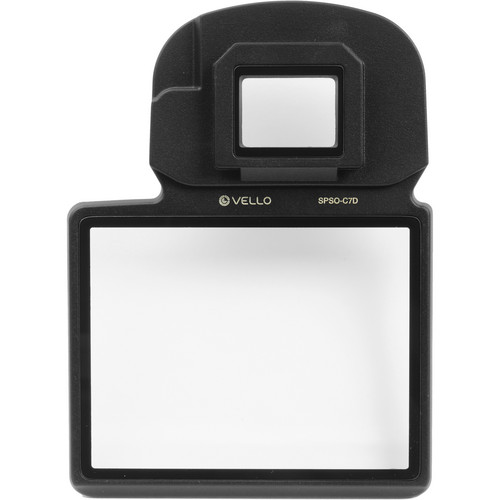 Vello Snap-On Glass LCD Screen Protector for Canon 7D