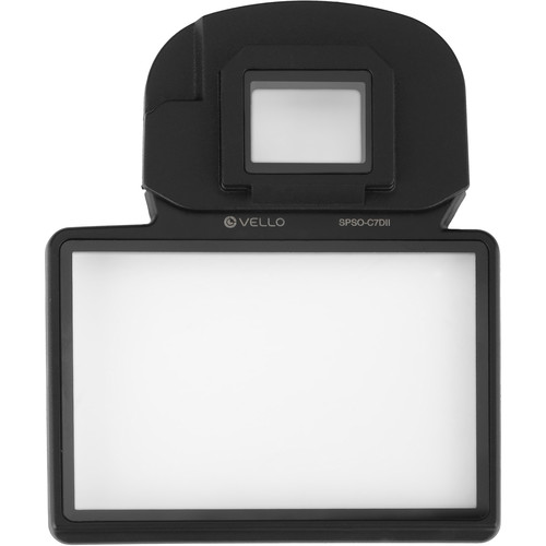 Vello Snap-On Glass LCD Screen Protector for Canon 7DII