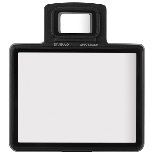 Vello Snap-On Glass LCD Screen Protector for Nikon D3200