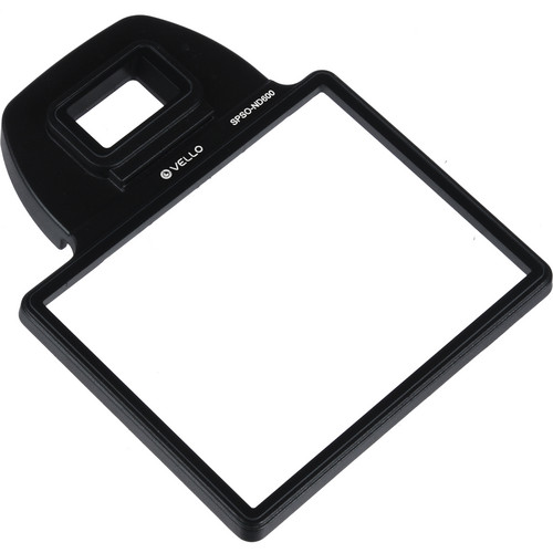 Vello Snap-On Glass LCD Screen Protector for Nikon D600 & D610