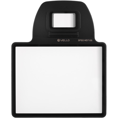 Vello Snap-On Glass LCD Screen Protector for Nikon D7100