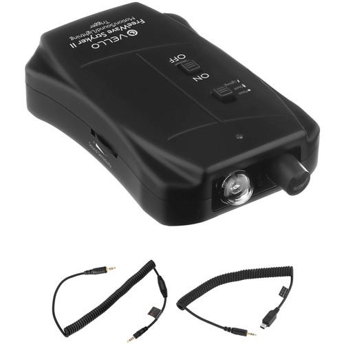 Vello Vello FreeWave Stryker II Motion/Sound/Lightning Trigger for Select Nikon/Panasonic/Leica/Olympus OM Cameras