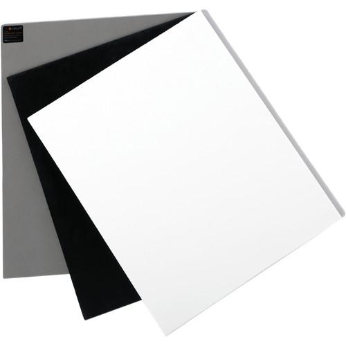"Vello White Balance Card Set for Digital Photography (Large, 10 x 7.9"")"