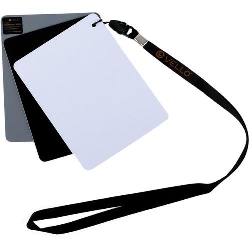 "Vello White Balance Card Set for Digital Photography (Medium, 5.1 x 3.9"")"