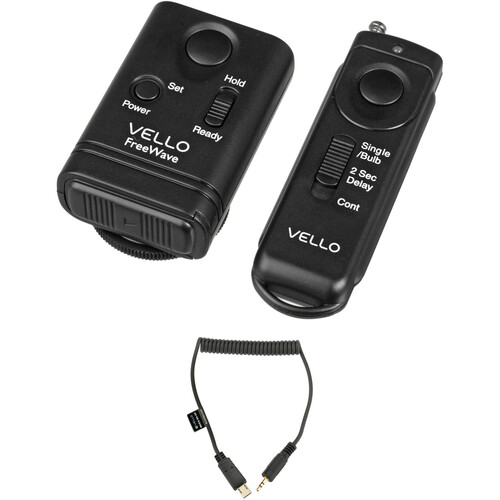 Vello FreeWave Wireless Remote Shutter Release Kit for Select Sony Cameras