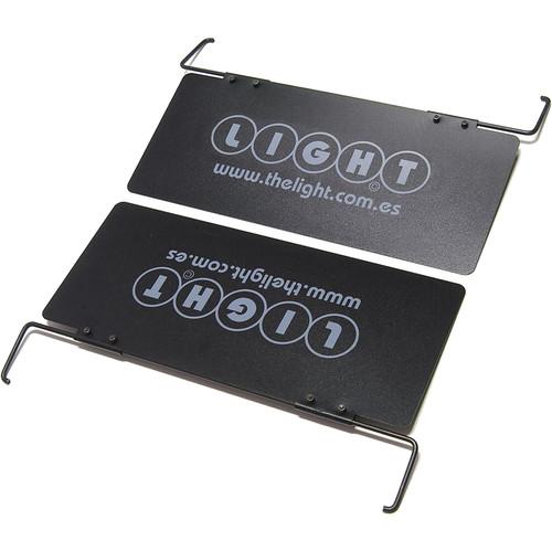 VELVETlight Removable Barndoors for 4, 5 & 6Light-Studio Bi-Color LED Fixtures (2-Pack)
