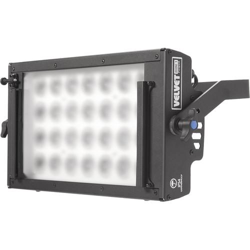 VELVETlight MINI 1 Power LED Panel with Gold Mount Battery Plate