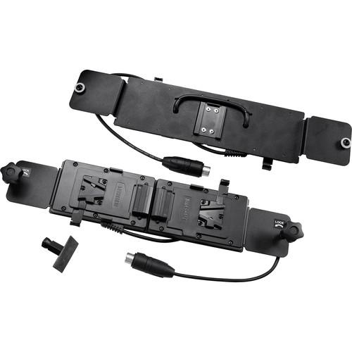 VELVETlight Battery Plate for VELVET Light 2 LED Light (Dual V-Mount)