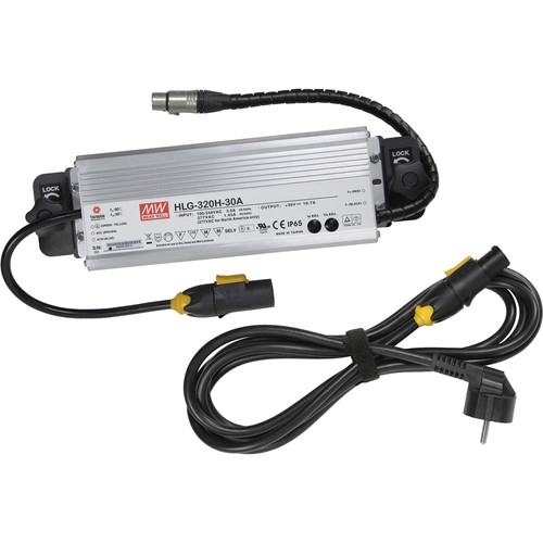 VELVETlight Power Supply and Mounting Plate for VELVET Light 2x2