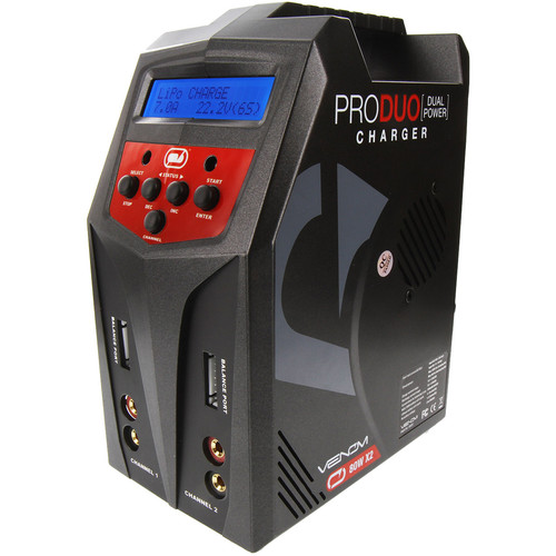 Venom Group Pro Duo 80W Dual 7A Balance Charger for RC Batteries