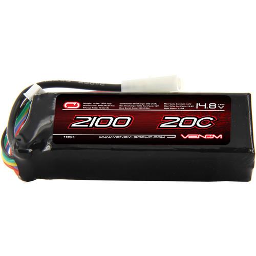 Venom Group Venom 20C 4S 2100mAh 14.8V Starter Box Lipo Battery With Tamiya Plug