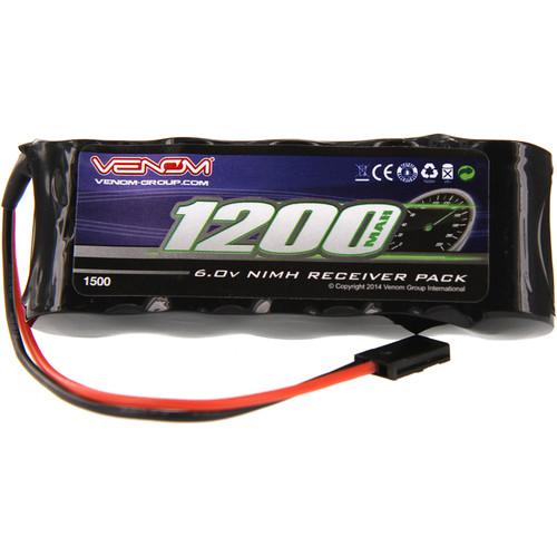 Venom Group Venom 6V 1200mAh 5-Cell Flat Receiver NiMH Battery