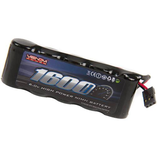 Venom Group Venom DRIVE Series 6V 1600mAh 5-Cell Flat Receiver NiMH Battery